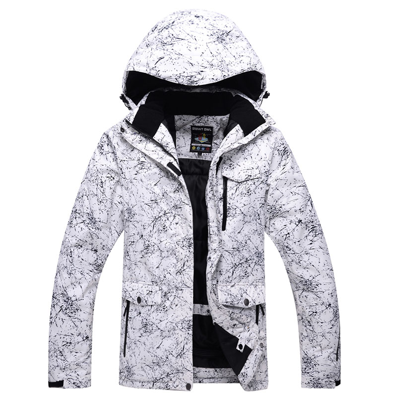Outdoor sports ski suits men winter windproof waterproof breathable climbing jackets white lightning new free shippingS-XXXL sisjuly white xxxl