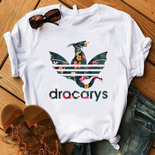 Dracarys T Shirt for Women Game T-Shirts Summer Mother of Dr
