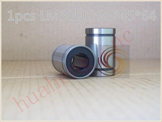 LM30UU LME30UU LM30UUAJ 30mm linear ball bearing bush bushing for 30mm rod round shaft 1pcs