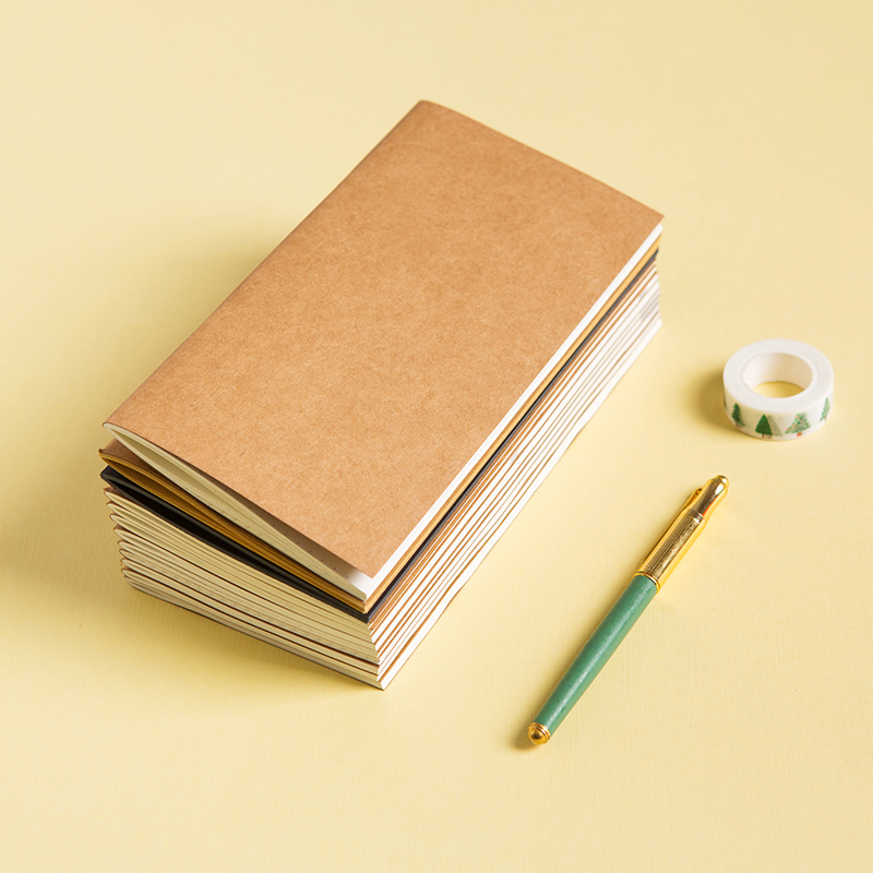 Travelers Travel Diary Traveler Notebook Notepad Standard Cowhide Paper Replacement Travel Journal Filler Papers