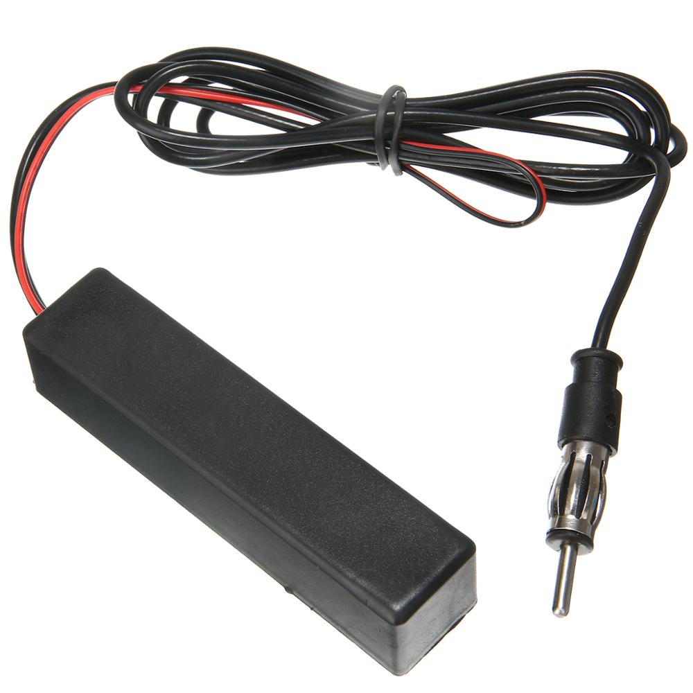 Image 5 - 1pcs 12V Hidden Amplified Antenna Universal Car Electronic Stereo AM FM Radio Hidden Amplified Antenna Aerial-in Aerials from Automobiles & Motorcycles