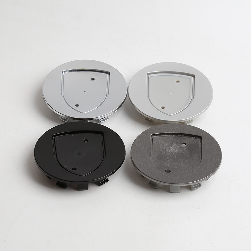 20 pcs Black Silver Grey Wheel center hub caps emblem Logo 75mm 76mm for Porsche car