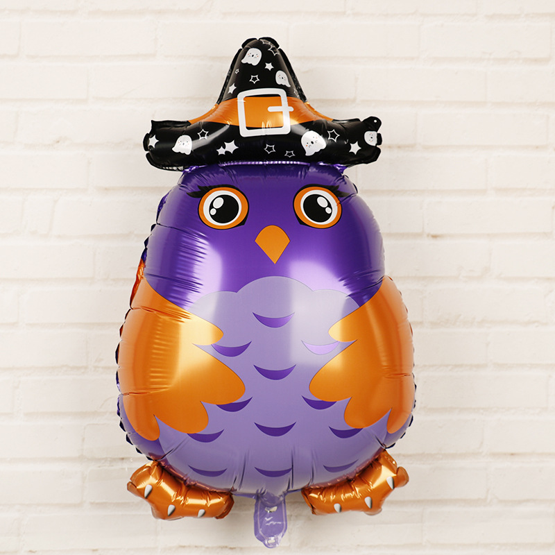 HTB1STsdalSD3KVjSZFqq6A4bpXaR - Halloween Party Decoration Balloons Halloween Witch Ghost Decoration Kids Favors Halloween Props Accessories Party Supplies