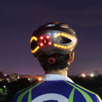 2019 Unisex 57 62cm bike helmet Cycling light Smart casco MTB Helmet Mountain Bike Accessory USB Chargeable Controller