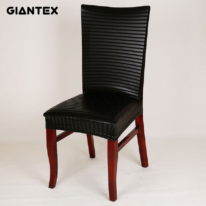 Giantex Pu Leather Elastic Chair Cover Home Decor Dining