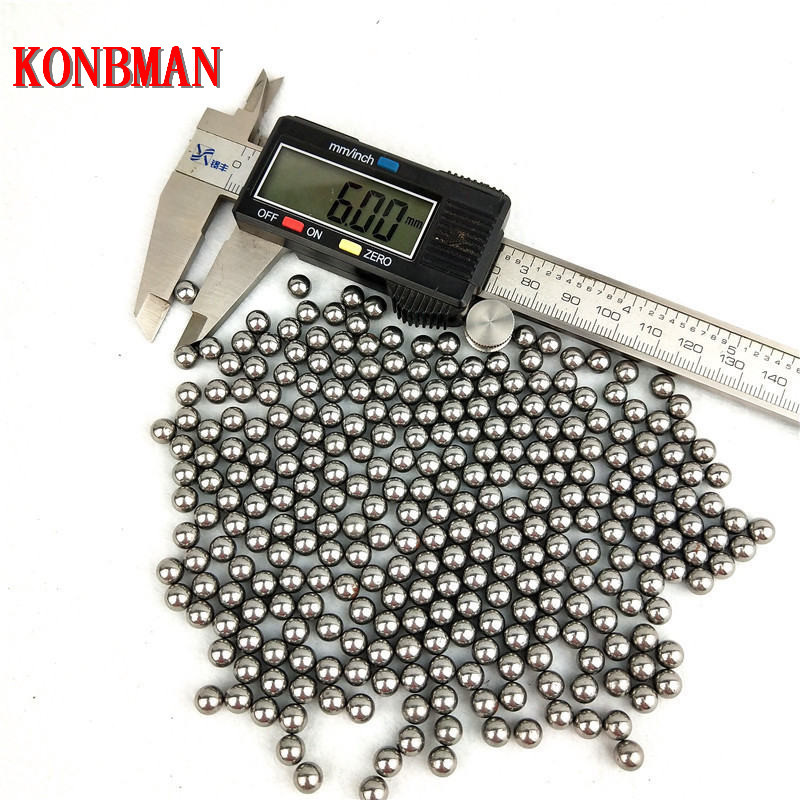 High quality steel balls for Airsoft or ball bearings 6mm different amounts