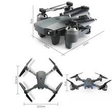 New Foldable RC Drone With 30w WIFI Camera 2 4G 4CH 6 Axis RC Helicopter Real