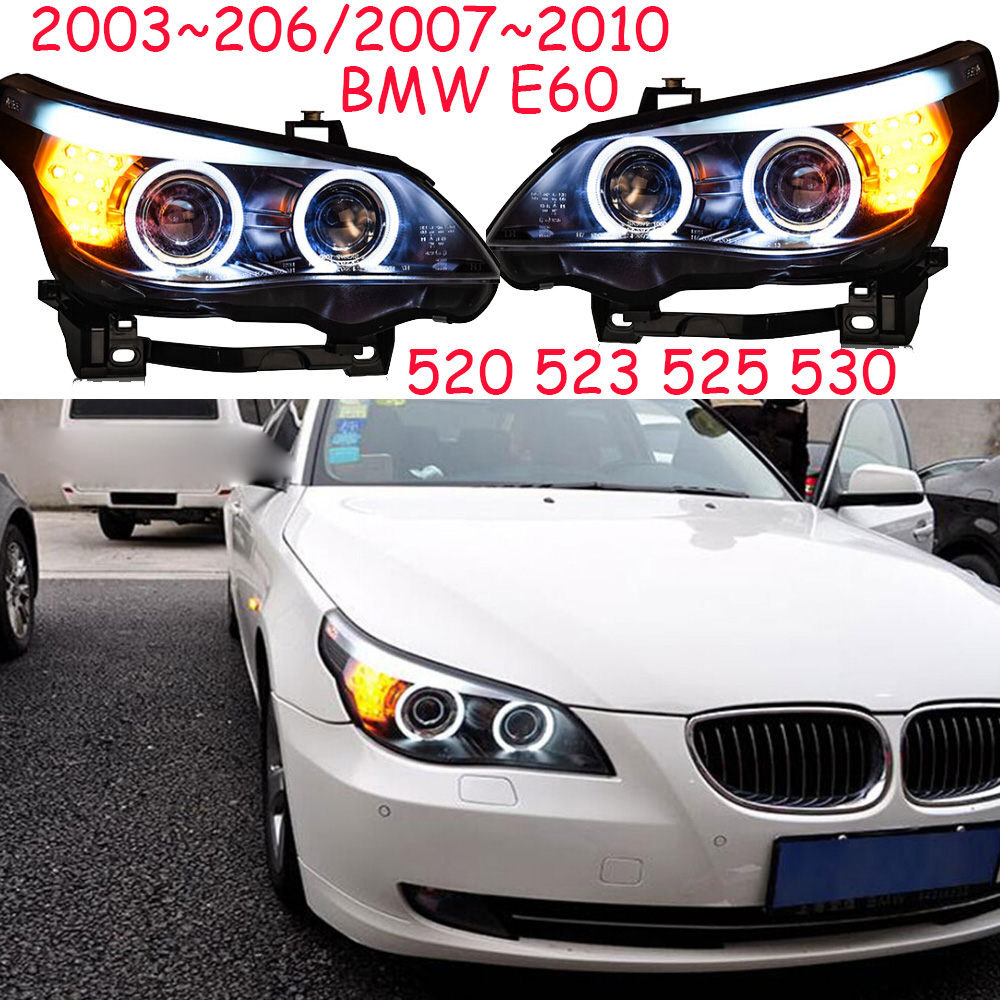 HID,2003~2006/2007~2010 Car Styling for E60 Headlight,canbus ballast,520 523 525 530,E60 Fog lamp,E60 head lamp free shipping xenon d1 headlight hid ballast for 2003 2006 lincoln navigator