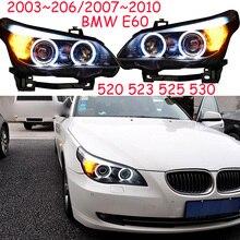 HID, 2003 ~ 2006/2007 ~ 2010 Car Styling per E60 Faro, canbus zavorra, 520 523 525 530, E60 lampada della Nebbia, E60 testa della lampada