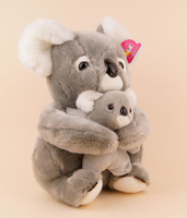 Stuffed Animal 50 Cm Lovely Koala Bear Plush Toy Soft Mother Child Koala Doll B3867
