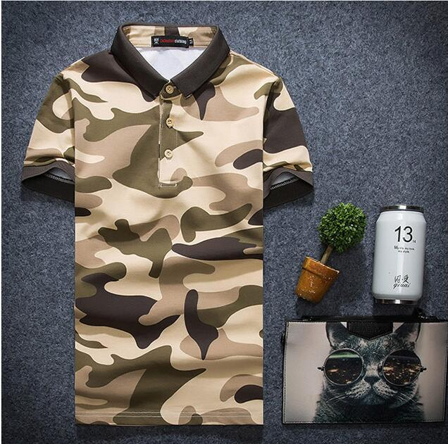 Summer Mens Casual Polo Shirts  Luxury Brands Clothing Short Sleeve Man's Slim Clothes Homme POLO