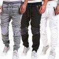 Специальное предложение 2016 мужские брюки хип-хоп бегунов брюки моды Утолщаются бархатные тренировочные брюки случайные штаны фитнес pantalones hombre