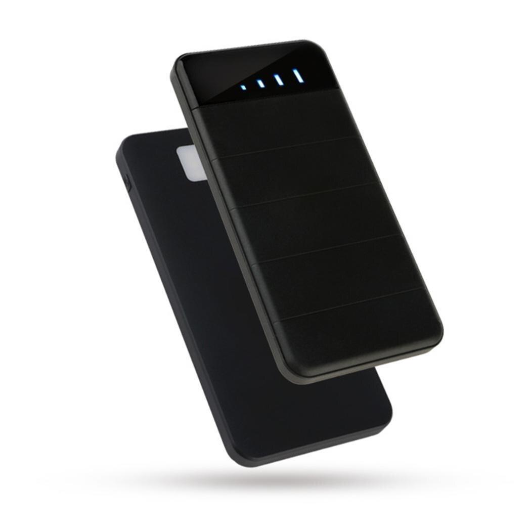 Général 20000 mAh batterie Portable solaire double USB sortie détachable rouleau pliant panneaux solaires Powerbank Portable batterie externe
