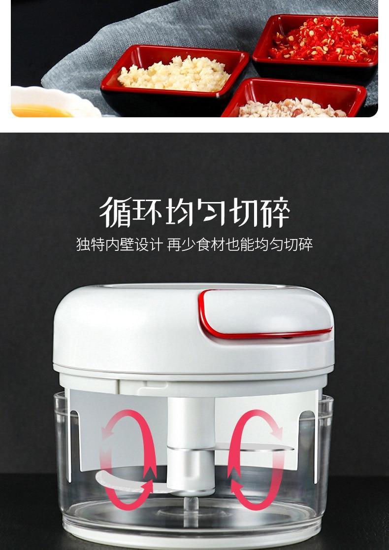 HTB1STtkaEY1gK0jSZFCq6AwqXXaC Mini 170ML Powerful Meat Grinder Hand-power Food Chopper Mincer Mixer Blender to Chop Meat Fruit Vegetable Nuts Shredders