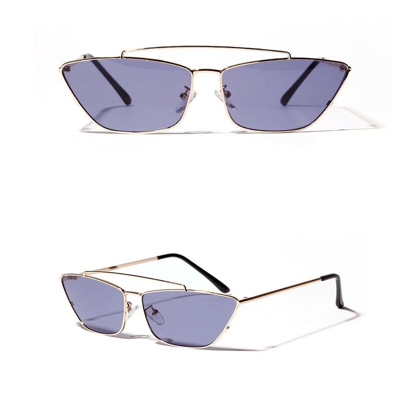 ladies cats eye sunglasses green lens detail (8)