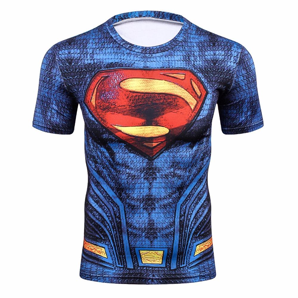 Spiderman 3D Printing Compression Shirt Comics Superhero T Shirts Fitness Tights