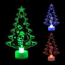 Красочные светодиодные декоративные огни, Новогодние товары, Рождественские елочные украшения, вечерние украшения, Adornos De Navidad Para Casa