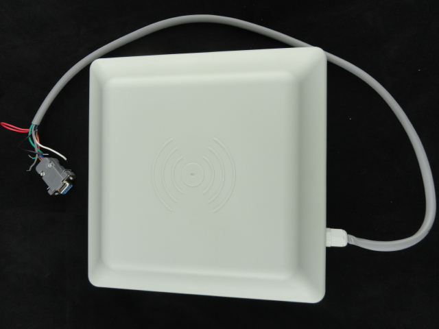 Vehicle Parking UHF RFID Card Reader 6m Long Distance Range With 8dbi Antenna RS232/RS485/Wiegand Read Integrative UHF Reader