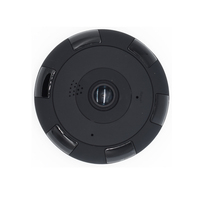 HD 1080P WiFi Mini Panoramic Camera 360 Degree Fisheye Camera Video Storage 64GB Remote IR CUT