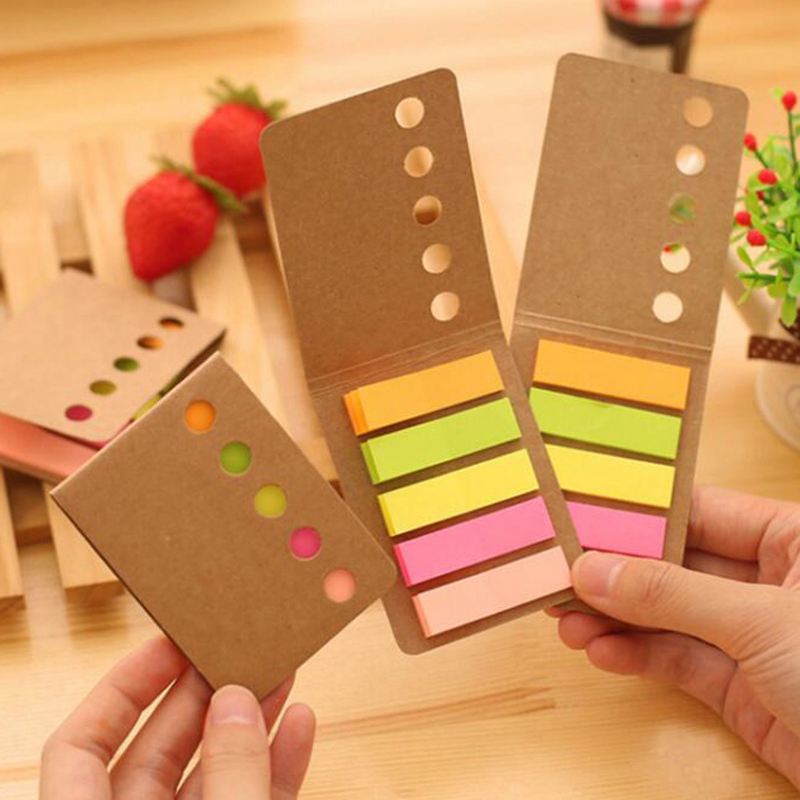 New 20 sets/Lot Cute Colorful Paper Note Christmas Gift Planner Stickers Sticky Notes Memo Pad Post It Office School Supplies