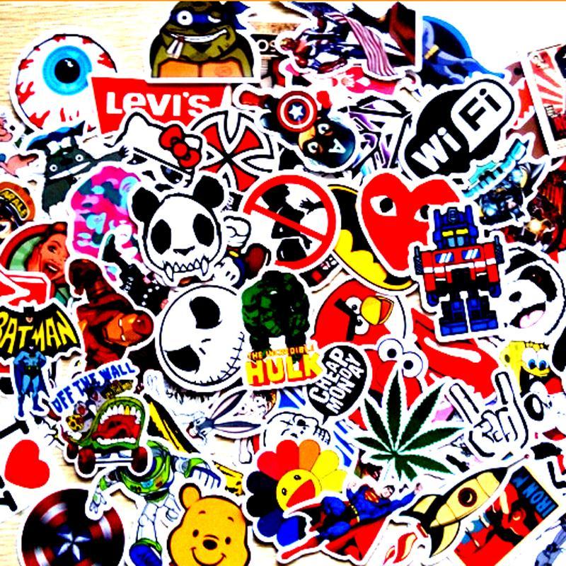 Mixed Sticker Toy Styling Skateboard Laptop Luggage Snowboard - Vinyl bumper stickers