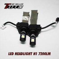 High Quality Guarantee 2x H1 60W 7200LM CREE ETI NLW LED Car Auto White Fog DRL
