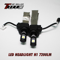 High Quality Guarantee 2x H1 60W 7200LM CREE ETI NLW LED Car Auto White Fog DRL