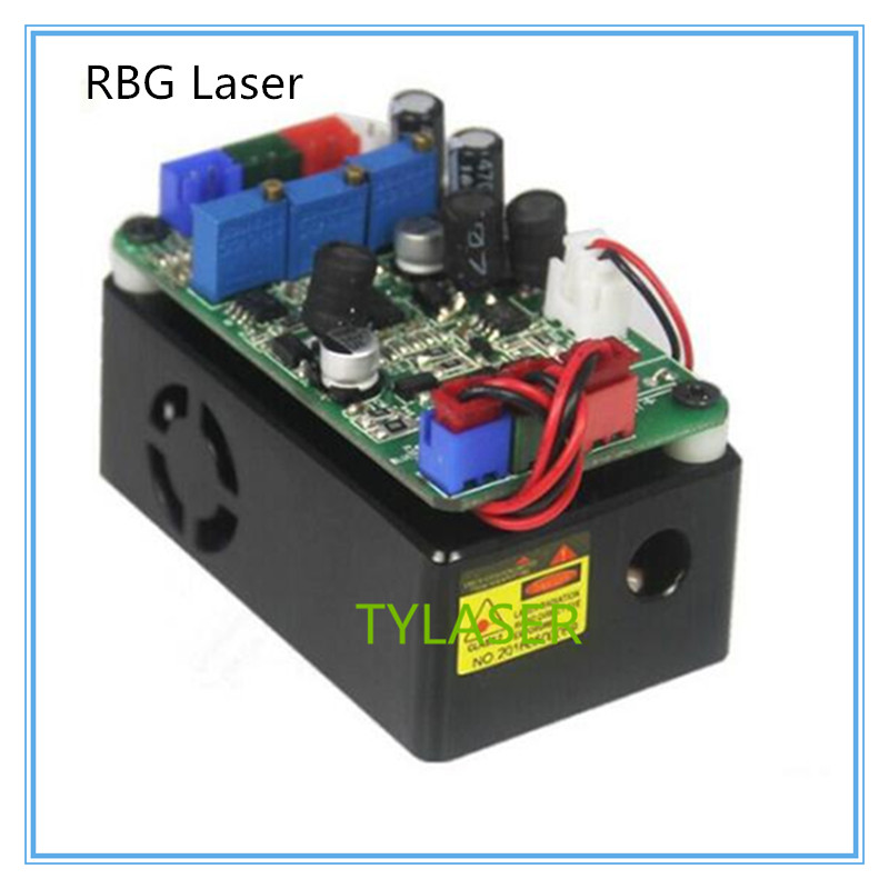 300mw RGB semiconductor laser module red green blue laser white light stage performance