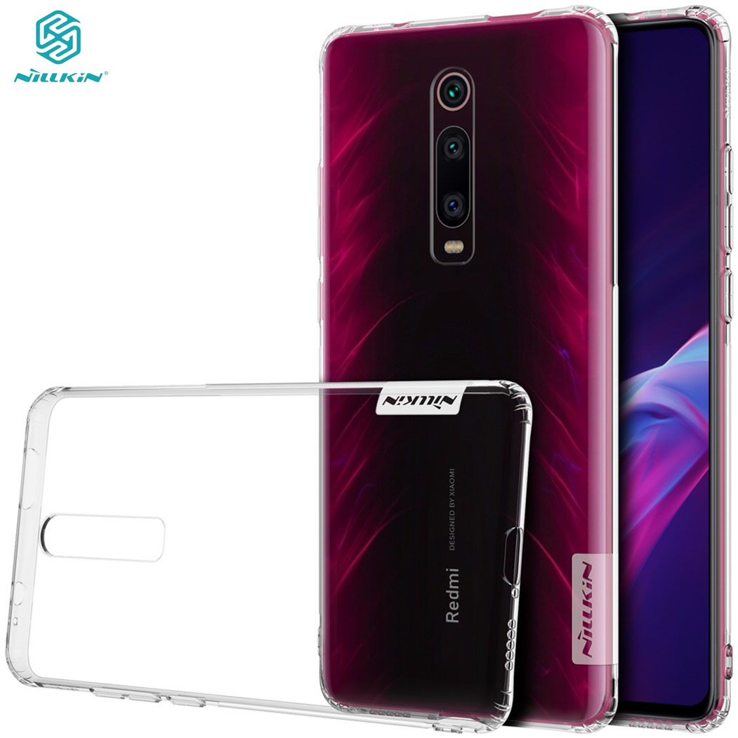 For Xiaomi Mi 9T Redmi K20 Case Mi9T Pro Cover Nillkin Nature Transparent Clear Soft Silicon TPU Back Cover for Redmi K20 Pro image