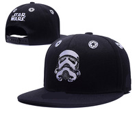 Trend Summer New Fashion Star Wars Embroidery Cotton Man Women Hip Hop Hat Flat Along Trendsetter