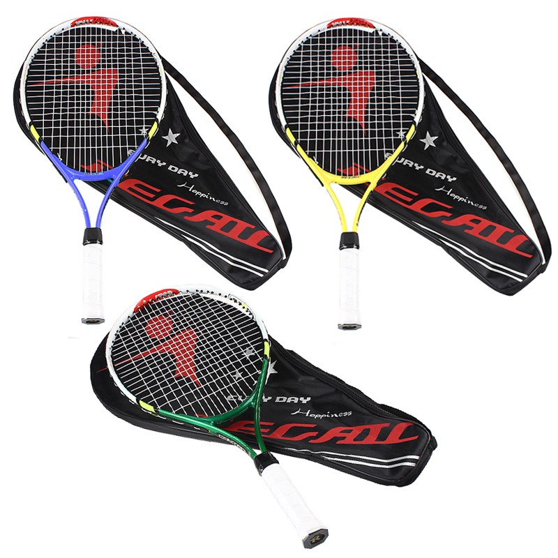 2018 100% NEW 1PCS Junior Tennis Racquet Raquette Training Racket For Kids Youth Childrens Tennis Rackets With Carry Bag Hot