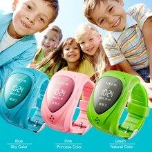 GPS Tracker Смотреть Дети Горячая продажа Смарт часы Синий Розовый зеленый SOS Anti-потерянный Монитор 12 Языков GPS Часы Бесплатная Доставка JM09
