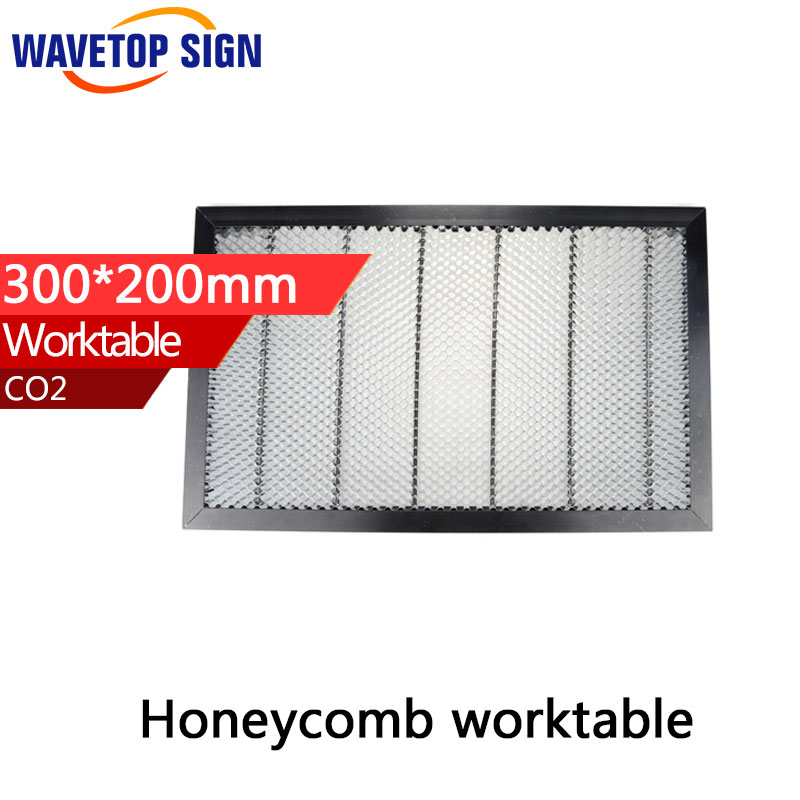 Honeycomb Working Table 3020 size 300x200mm Laser Enquipment Parts For CO2 Laser Engraver Cutting Machine co2 laser machine laser path size 1200 600mm 1200 800mm