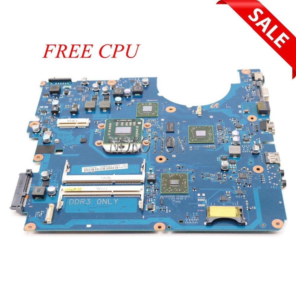 NOKOTION BA92-06827A BA92-06827B For samsung NP-R525 R525 Laptop motherboard AMD DDR3 BA41-01360A ATI GPU free CPUNOKOTION BA92-06827A BA92-06827B For samsung NP-R525 R525 Laptop motherboard AMD DDR3 BA41-01360A ATI GPU free CPU