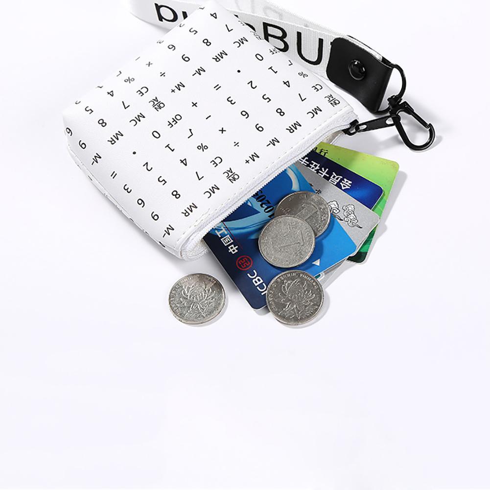 Women Girls Fashion Mini Geometric Coins Keys Purse Holder Clutch Bag Case Wallet