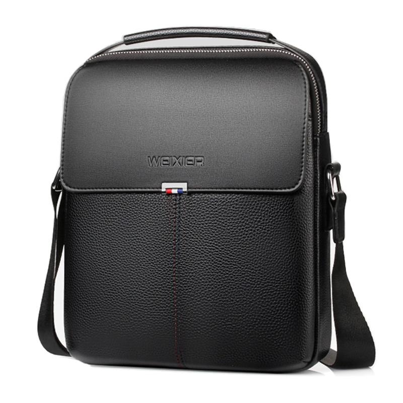 NEW Brand Men Shoulder Bag Business Briefcase Handbag Leather Men S Crossbody Bags For Casual High