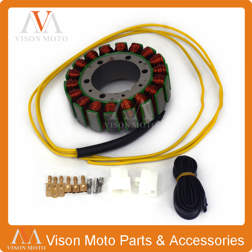 Motorcycle Generator Magneto Stator Coil For <font><b>HONDA</b></font> CX <font><b>GL</b></font> <font><b>500</b></font> 650 CX500 CX650 GL500 GL650 SHADOW image