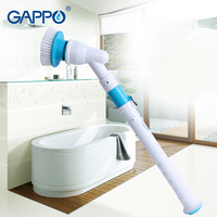 GAPPO Spin Electric Cleaning Brushes Adjustable Waterproof Resistant Wireless Charging Cleaner Household Cleaning Tools