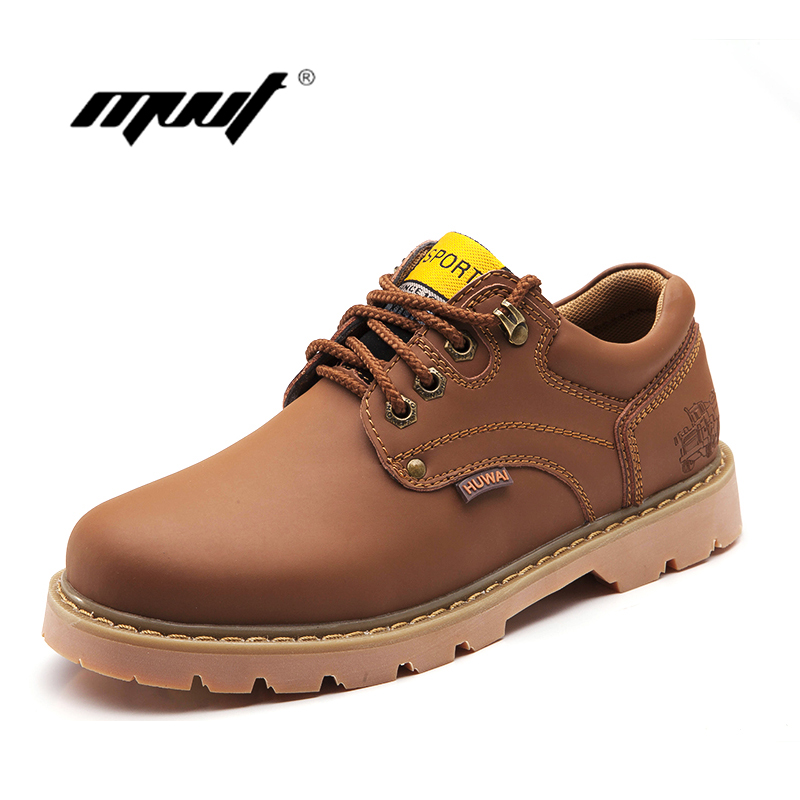 Popular men's boots male high quality men's leather boots new business casual flat shoes in the fall and winter ankle boots