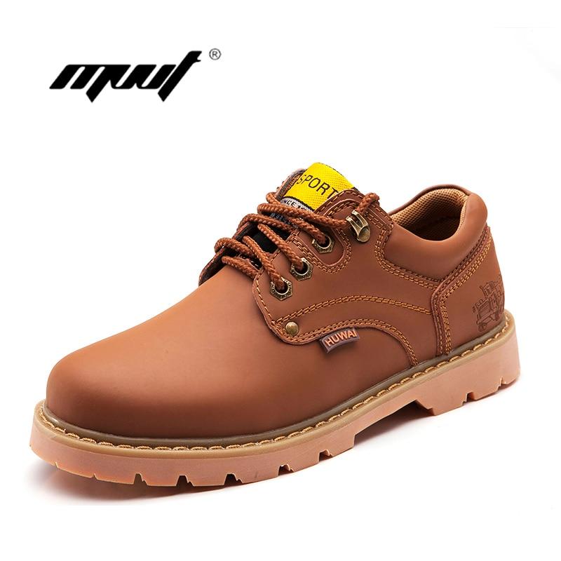 Հանրաճանաչ տղամարդկանց կոշիկներ տղամարդկանց բարձրորակ տղամարդկանց կաշվե կոշիկներով նոր բիզնեսի պատահական հարթ կոշիկներ աշնանը և ձմեռային կոճ կոշիկները