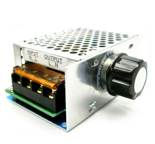 4000W high power thyristor electronic voltage regulator for dimming control air-conditioning shells with insurance microscope accessories mobile 00 foot power dimming
