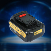 Higher Capacity 4000mAh 20V Lithiun ion Battery for Dewalt DCB200 DCB204 2 DCB180 DCB181 DCB182 DCB203 DCB201 DCB201 2 DCD740