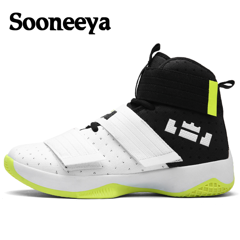 Basketball-Shoes High-Top Yellow Outdoor Men Cushioning-Light Homme Camouflage