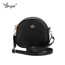 YBYT brand 2016 new joker leisure ciecular bags PU leather ladies cell phone coin purses mini shoulder messenger crossbody bags ybyt brand 2017 new simple leisure lichee pattern soft long wallet hotsale ladies pu leather cell phone coin purses card package