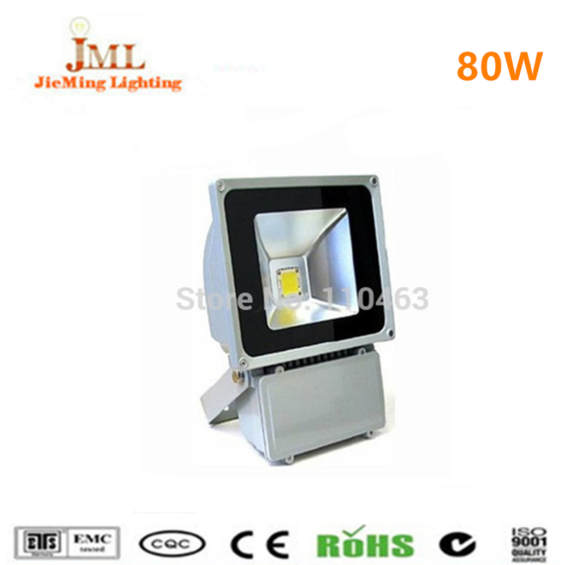 Floodlight 80W IP65 85-265V Good Price with High Power Waterproof Outdoor LED Projection Lamp IP65 wall light