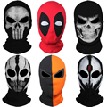 20 Style Balaclava Ghost X-men Masks Deadpool Punisher Deathstroke Grim Reaper Tactical Halloween Clown Costume Full Face Mask