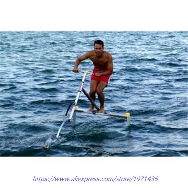 Очень смешно, парк развлечений воды игрового оборудования ездить на велосипеде водные виды спорта велосипед