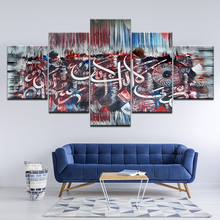 5 Piece HD Print Abstract Holy Bible Islam Muslim Wall art canvas oil Paintings poster picture restaurant living room home decor