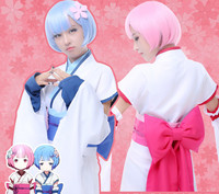 2016 Hot Anime Cosplay Rem Ram Costume Re Life In A Different World From Zero Role