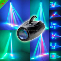 Professional LED Small Airship Magic Colorful Pattern LED Stage Light ,64 RGBW LED Moonflower Lighting For DJ Party KTV Lights